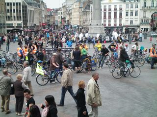 lille grand-place – juin 2009